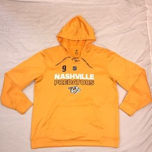 Adidas Nashville Preds Forsberg Hooded Sweatshirt